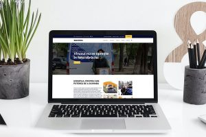 Lansarea unei noi versiuni a paginii web