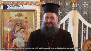 Interviu cu Pr. Vasile Burduja – primul partener social al Diaconiei