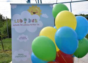 Ludobus aduce bucuria jocului copiilor din Moldova. Un nou proiect marca Diaconia